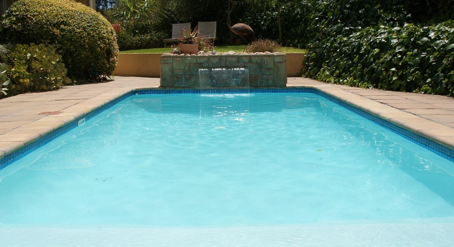 Swimming pool at African Dreams Guest House